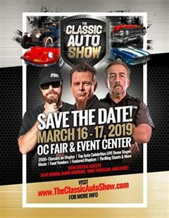 The Classic Auto Show March 2019