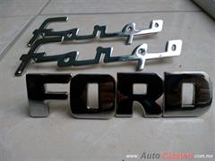 LETRAS FORD 1948 A 1952