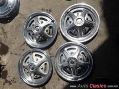 Tapones 15 Ford pick up años 60s