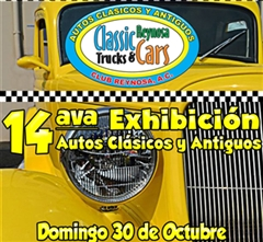 14th Exhibition  Classic and Antique Cars Reynosa