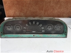 chevrolet pick up 1960 a 1963  c10 c20 k20 k10 panel de instrumentos