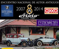 8th National Gathering of Old Cars Atotonilco