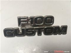 FORD F100 CUSTOM 1977 A  1979 EMBLEMA ORIGINAL