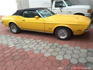 Ford Mustang mach one Convertible 1971