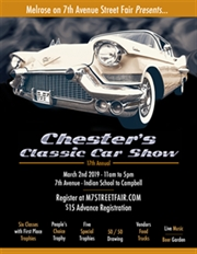 Chester's Classic Car Show - 17th Annual