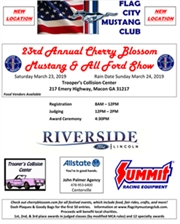 23rd Annual Cherry Blossom Mustang & All Ford Show