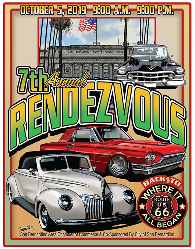 7th Annual Rendezvous back to Route 66