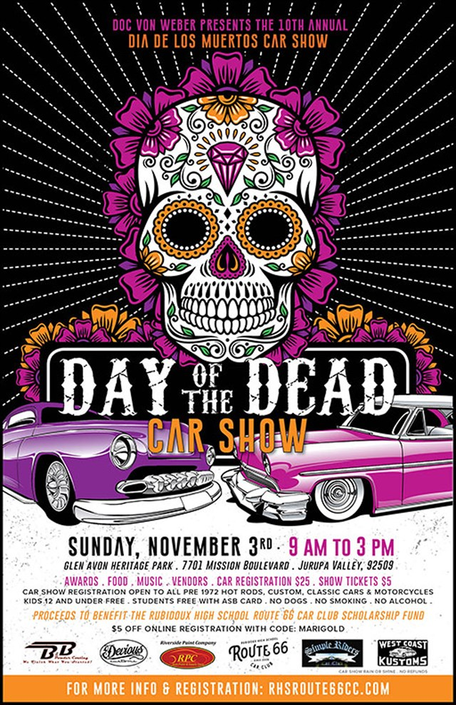 10th Annual Day of the Dead Car Show