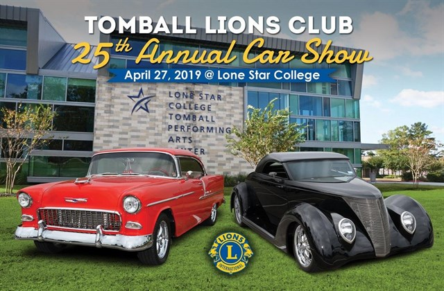 Tomball Lions Club 25th Annual Car Show