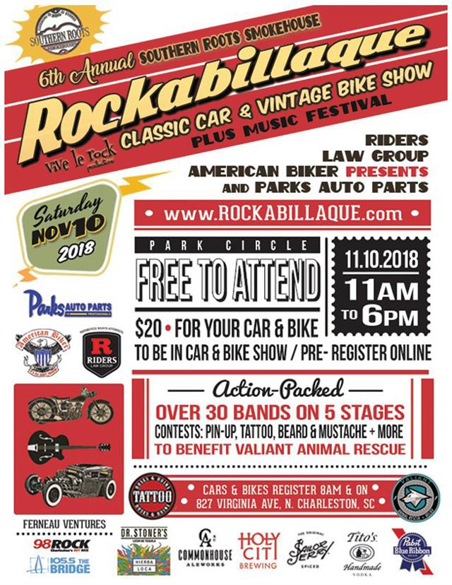 6th Annual Rockabillaque Classic Car & Vintage Bike Show