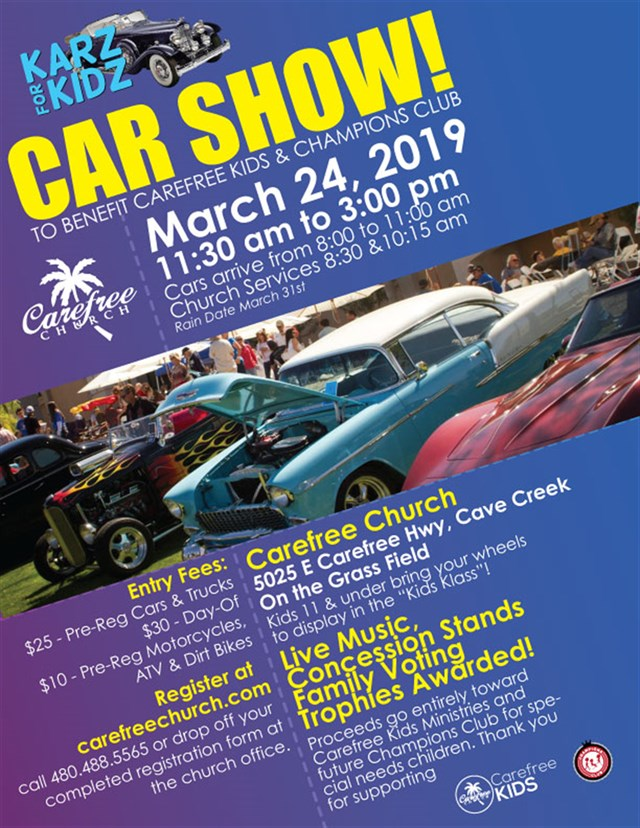 10th Annual Karz For Kidz Car Show