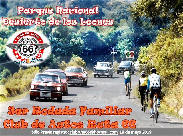 3er Rodada Familiar Club de Autos Ruta 66
