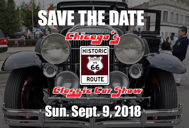 Chicago Historic Route 66 Classic Car Show
