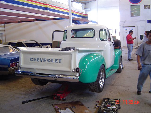 RESTAURACION DE PICK UP CHEVROLET 1951