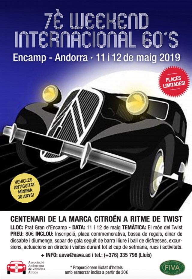 "7a Concentración Internacional ""Week-End de los 60s"""