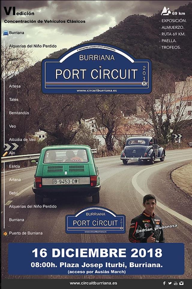 Burriana Port Circuit 2018