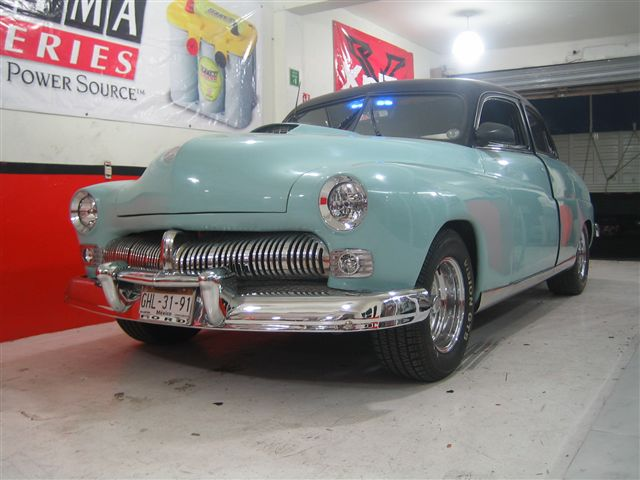 Ford Mercury 1949 STREET ROD - transformacion