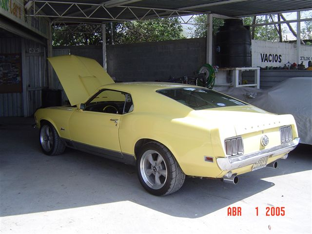 mustang fast back 1970
