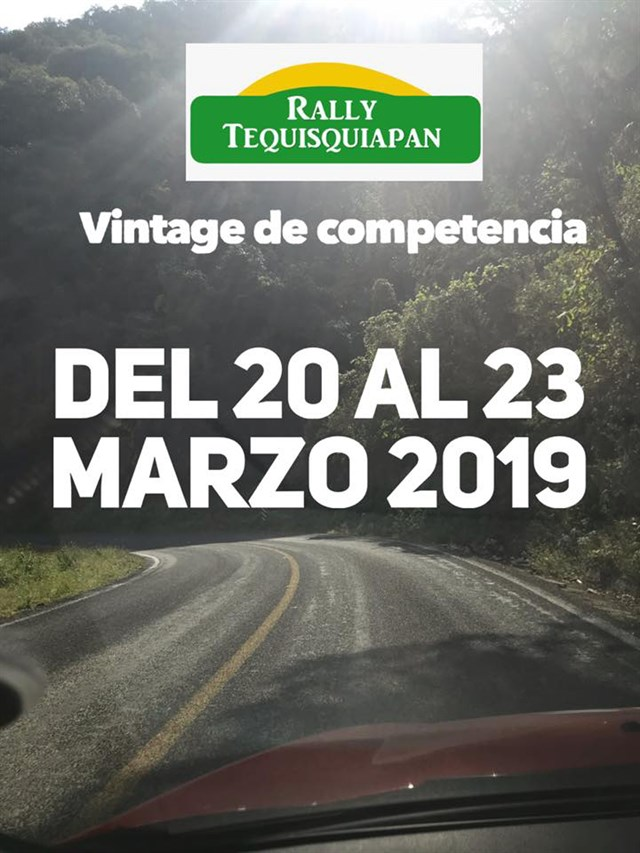 Rally Tequisquiapan Vintage 2019