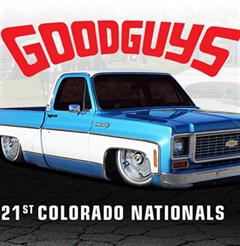 Más información de Goodguys 21st Colorado Nationals