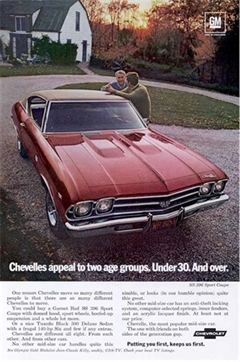 1969 Chevrolet SS 396 Sport Coupe