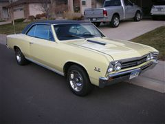 chevelle 1967  hard top