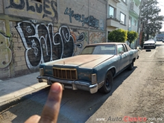 1975 Ford Lincoln, Town Coupe Coupe
