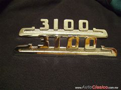 Se venden emblemas de chevrolet pick up 1953-1954
