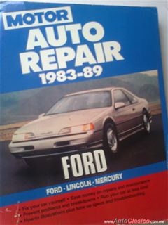 Manual  de manto y servicio del Ford,Lincoln,Mercury de los  modelos 1983-1989. cel. 5541399617
