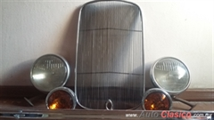 Parrilla faros defensa ford 1932 originales