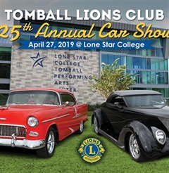 Más información de Tomball Lions Club 25th Annual Car Show
