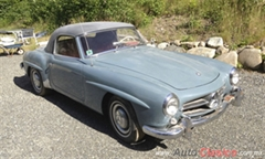 1958 Mercedes Benz 190SL SL Coupe Convertible