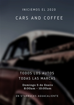 Cars and Coffee Tijuana 2020