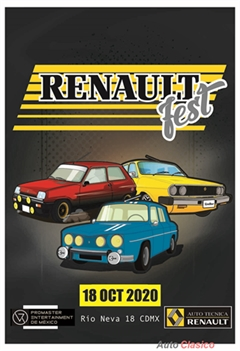 Renault Fest Ciudad de México 2020