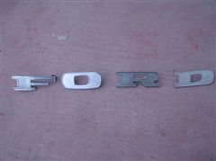 Letras Ford pick up 1967 a 1972