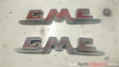 EMBLEMAS GMC PICK UP-SUBURBAN MOD 55-59