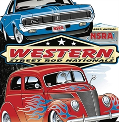 Más información de 43rd Annual Western Street Rod Nationals