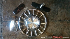Tapon inoxidable R14 para ford Mustang 1968