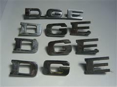 DODGE  PICK UP LETRAS ORIGINALES