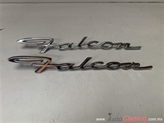 FORD FALCON 1964 A 1965 LETRAS LATERALES