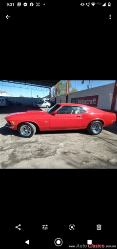 1970 Ford Mustang Sportroof Fastback