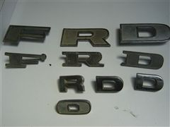 FORD PICK UP LETRAS ORIGINALES