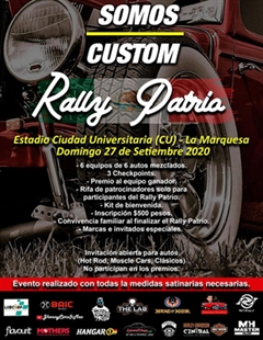 Somos Custom Rally Patria 2020