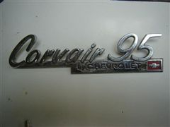 CHEVROLET CORVAIR EMBLEMA ORIGINAL