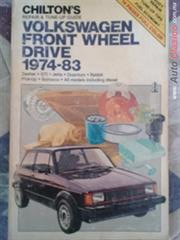 manual de servicio y manto. del VW,Caribe,GTI,Rabbit,Pick-up,incluyendo los de diesel.1974-83