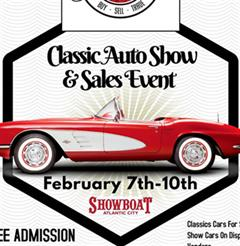Más información de Free Classics Car Sales And Show Event At The ShowBoat Atlantic City February