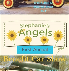Más información de Stephanie's Angel's 1st Annual Benefit Car Show