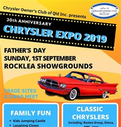 30th Chrysler Expo 2019
