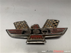 FORD MERCURY MUSTANG FAIRLANE GALAXIE 500 1962 A 1968 EMBLEMA LATERAL