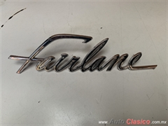 FORD FAIRLANE 500 1960 LETRA ORIGINAL